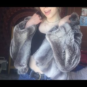 Kristen Blake Faux Fur Coat